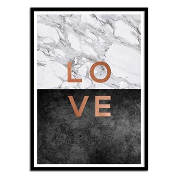 Wall Editions - Love - Affiche art 50 x 70 cm - multicolore