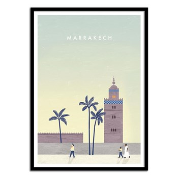 Wall Editions - Marrakech - Affiche art 50 x 70 cm - multicolore