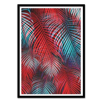 Wall Editions - Tropical Tremolo - Affiche art 50 x 70 cm - multicolore