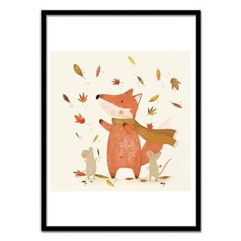 Wall Editions - Autumn is coming - Affiche art 50 x 70 cm - multicolore