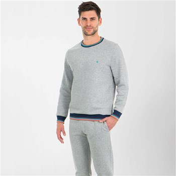 Eminence - Fast - Sweat col rond - gris chine