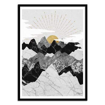 Wall Editions - Lever Du Soleil - Affiches - multicolore