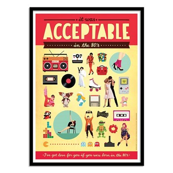 Wall Editions - Acceptable - Affiches - multicolore