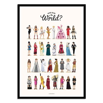 Wall Editions - Run the world - Affiches