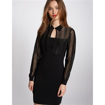 Morgan - Robe pull - noir