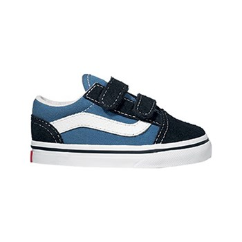 Vans - TD Old Skool V - Baskets basses - bleu marine
