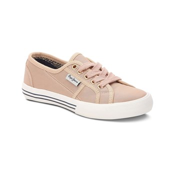 Pepe Jeans Footwear - Baker Shiny - Baskets - rose indien