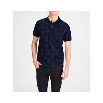 Jack & Jones - T-shirt, korte mouw - marineblauw