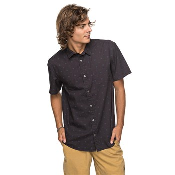 Quiksilver - Chemise manches courtes - anthracite