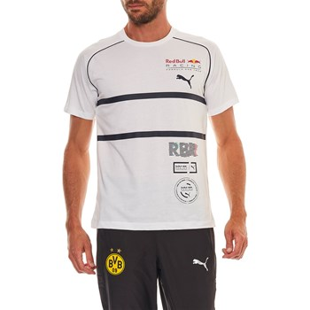Puma - Red Bull Racing - T-shirt manches courtes - blanc