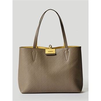 Guess - Bobbi - Cabas réversible - beige