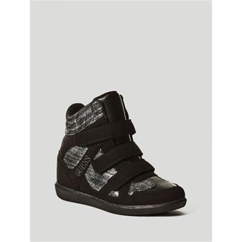 Guess Kids - Isa - Baskets montantes - noir