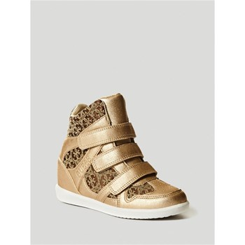 Guess Kids - Isa - Baskets montantes - or