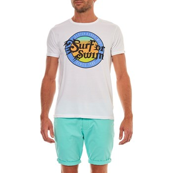 Scotch & Soda - T-shirt manches courtes - blanc