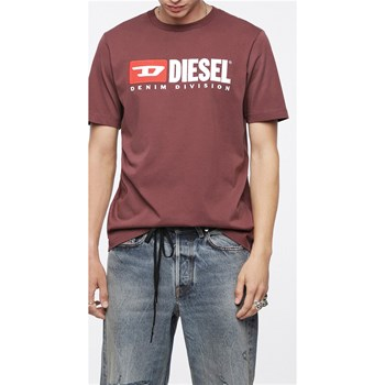 Diesel - Just - Kurzärmeliges T-Shirt - bordeauxrot
