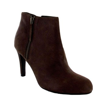 Kesslord - Nickel - Boots, Bottines - en cuir cognac