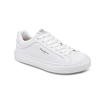 Pepe Jeans Footwear - Adams samy - Baskets - blanc