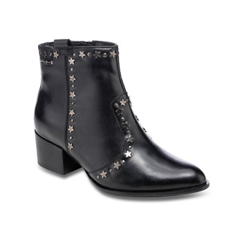 Pepe Jeans Footwear - Waterloo stars - Bottines en cuir - noir