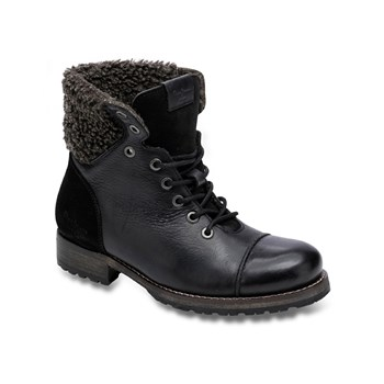 Pepe Jeans Footwear - Melting warm - Bottines en cuir - noir