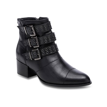 Pepe Jeans Footwear - Waterloo berlin - Bottines en cuir - noir