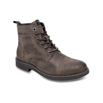 Pepe Jeans Footwear - Hubert - Stivaletti in pelle - marrone scuro