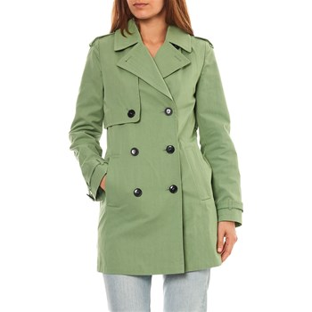 Trench and coat - Trench - groen