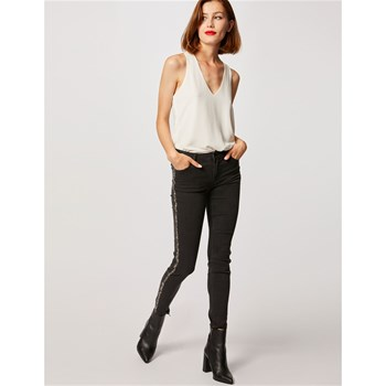 Morgan - Jeans Slim - zwart