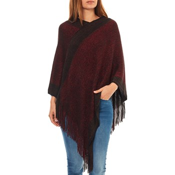 Best Mountain - Poncho - cerise