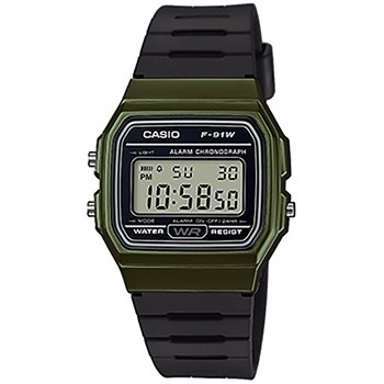 Casio - F-91W - Montre digitale - noir