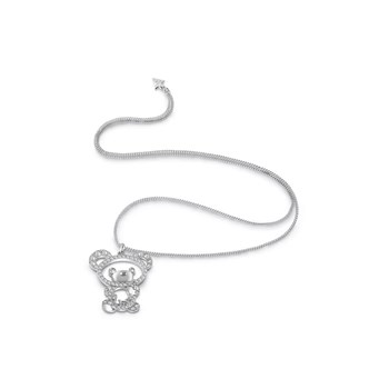 Guess - It wasn't me - Collier chaine - argent