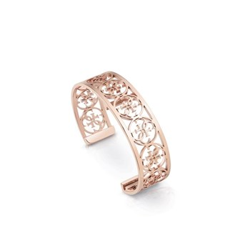 Guess - My Bangle - Bracelet en plaqué or - rose