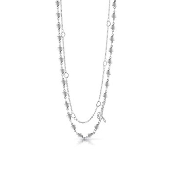 Guess - Shine on me - Collier multi-rangs - argent