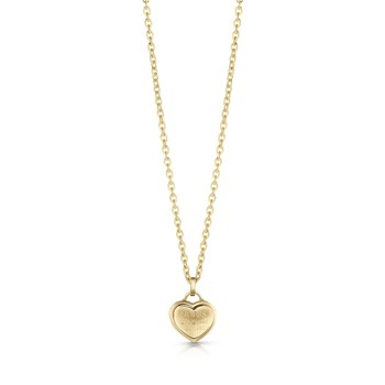 Guess - Follow my charm - Collier en plaqué or - or