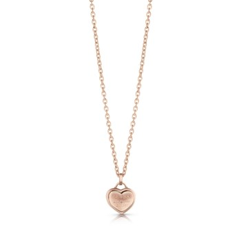 Guess - Follow my charm - Collier en plaqué or - rose