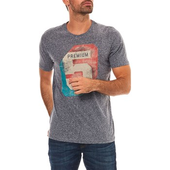 "Jack & Jones - Calvin - ""T-shirt, korte mouw"" - marineblauw"