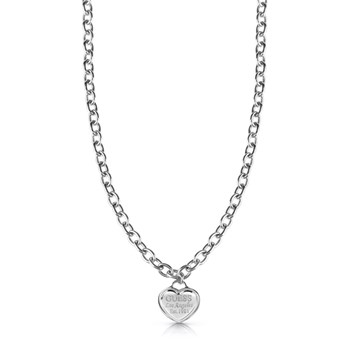 Guess - Follow My Charm - Collier pendentif - argent