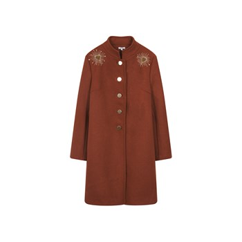 Amenapih - Livia - Manteau 30 % laine - marron clair