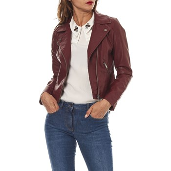 Only - Vigga - Veste biker - bordeaux