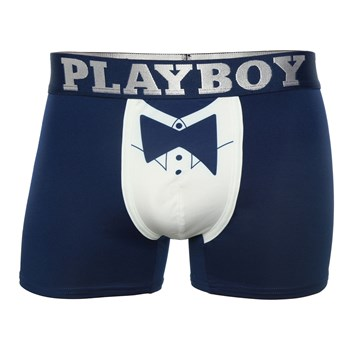 Playboy Homme - Mr playboy - Boxer - bleu