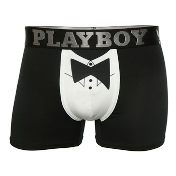 Playboy Homme - Mr playboy - Boxer - noir