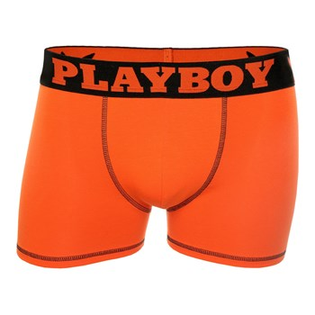 Playboy Homme - Message - Boxer - orange
