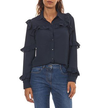 Best Mountain - Camicia a maniche lunghe - blu scuro