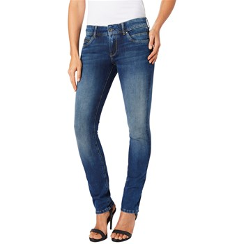 Pepe Jeans London - New Brooke - Jeans mit Slimcut - jeansblau