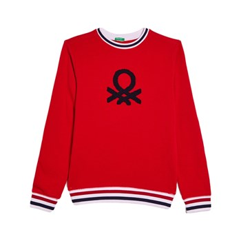 Benetton - Sweatshirt - rood