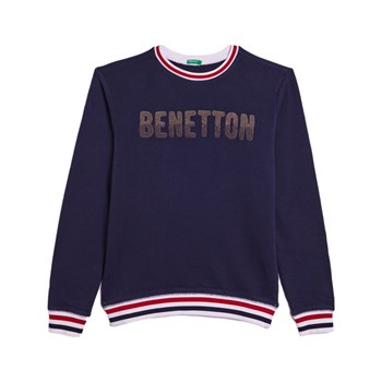 Benetton - Sweatshirt - marineblauw