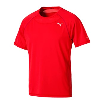 Puma - Speed - T-shirt manches courtes - rouge