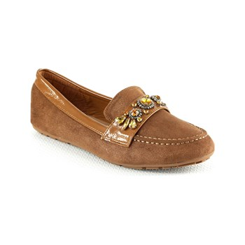 R and Be - Mocassins - camel