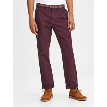 Jack & Jones - Cody spencer noos - Pantalon chino - bordeaux