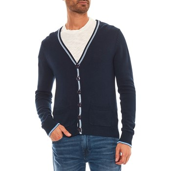 Maison MAD - Cardigan - blu scuro
