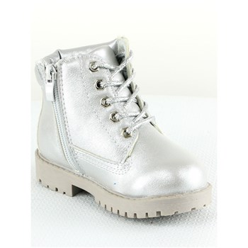 Rock'n Joy - Bottines - argenté